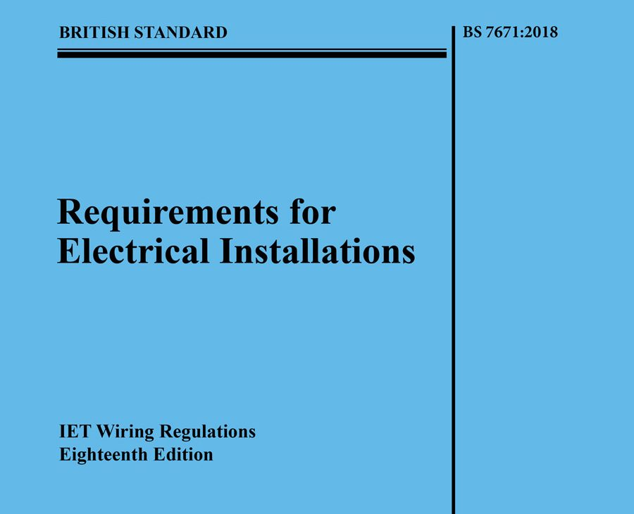IET and BSI publish the 18th Edition IET Wiring Regulations ...